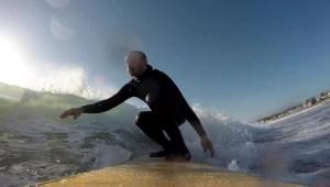 Surfeando en la frontera de las dos Coreas