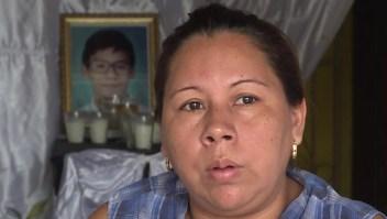 Madre de víctima mortal en Nicaragua: La policía tiró a matar