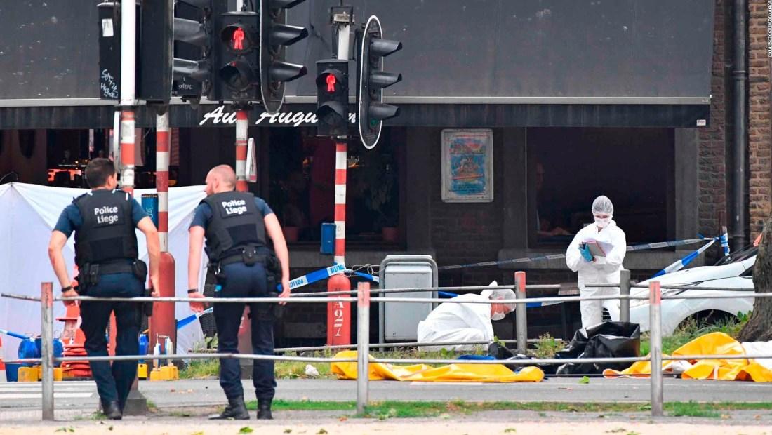 Día de terror en Bélgica