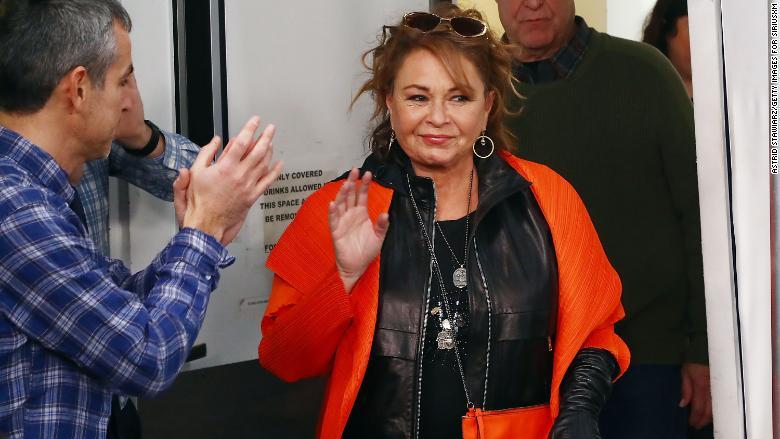 Roseanne Barr en marzo de 2018 en Nueva York.