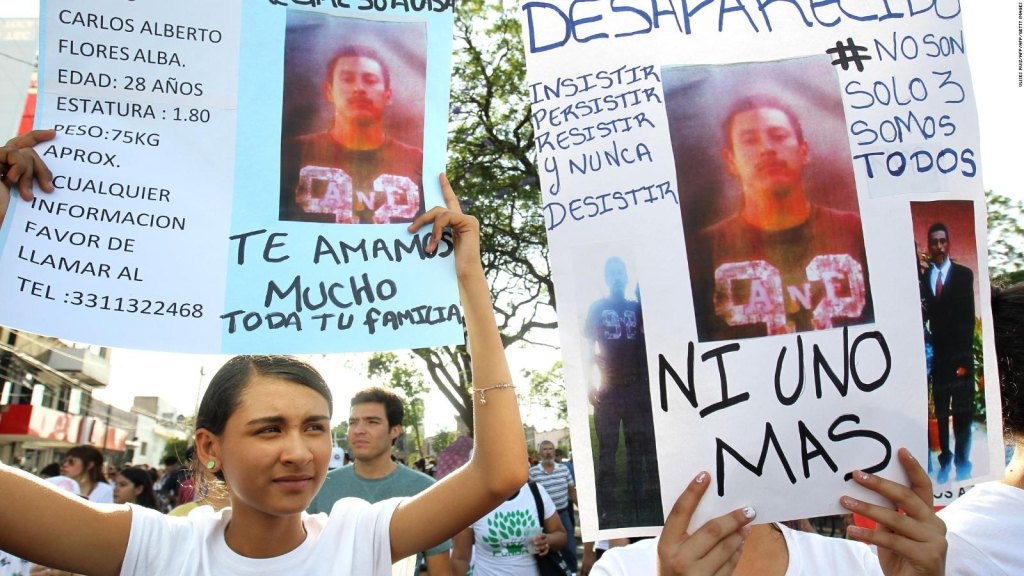 "ONU pide a México ""medidas urgentes"" por desapariciones forzadas"