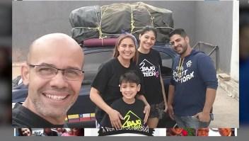 Odisea en auto de Venezuela a Argentina en busca de un futuro mejor