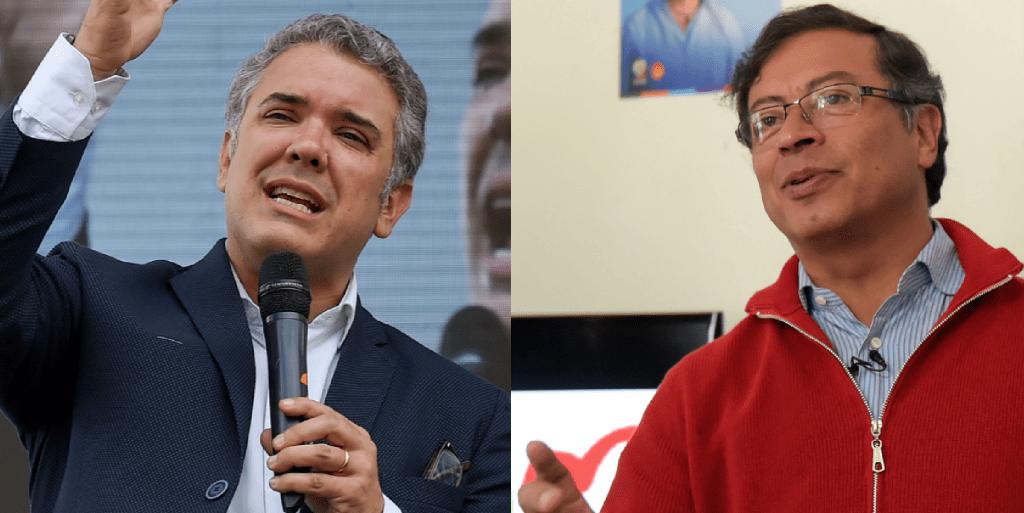Iván Duque y Gustavo Petro, favoritos en las elecciones presidenciales en Colombia