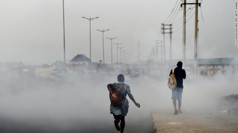 Ciudades más contaminadas del mundo. Port Harcourt, Nigeria. La ciudad se encuentra en la región del Delta del Níger productora de petróleo.