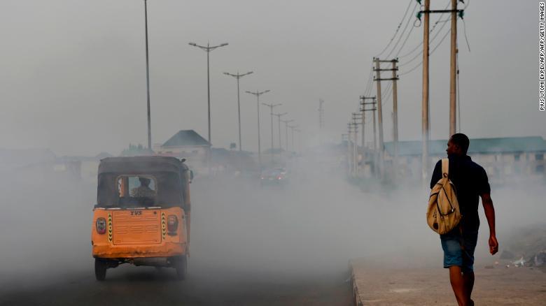 """Ciudades más contaminadas del mundo: Port Harcourt, Nigeria. Esta ciudad antes era conocida como """"La ciudad jardín"""". El hollín negro está ahora por todos lados."""