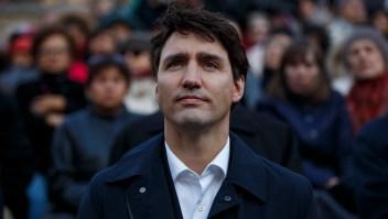 Imagen de archivo del primer ministro de Canadá, Justin Trudeau, en la vigilia tras un ataque en Toronto. Abril de 2018. (Crédito: Cole Burston/Getty Images)