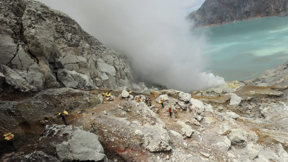 Complejo volcánico Ijen