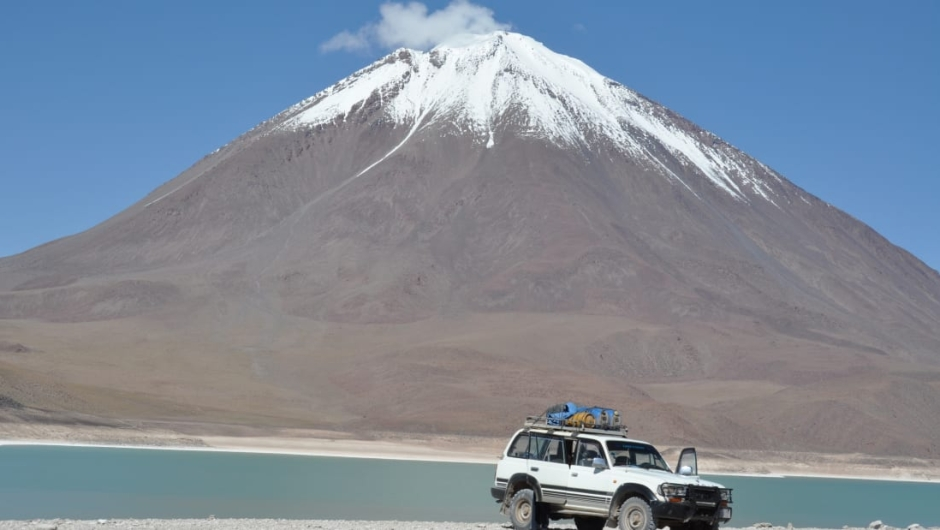 Volcán Licancabur, Bolivia