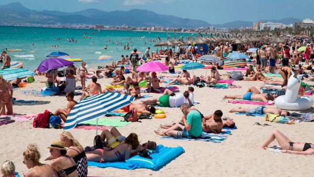 Palma de Mallorca ha elaborado una prohibición de pisos turísticos (Crédito: AIME REINA/AFP/AFP/Getty Images)