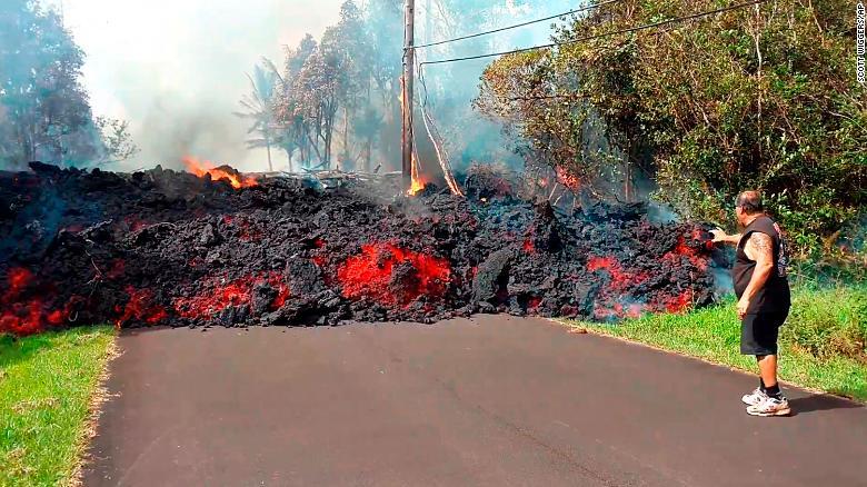 lava volcán kilauea erupcion