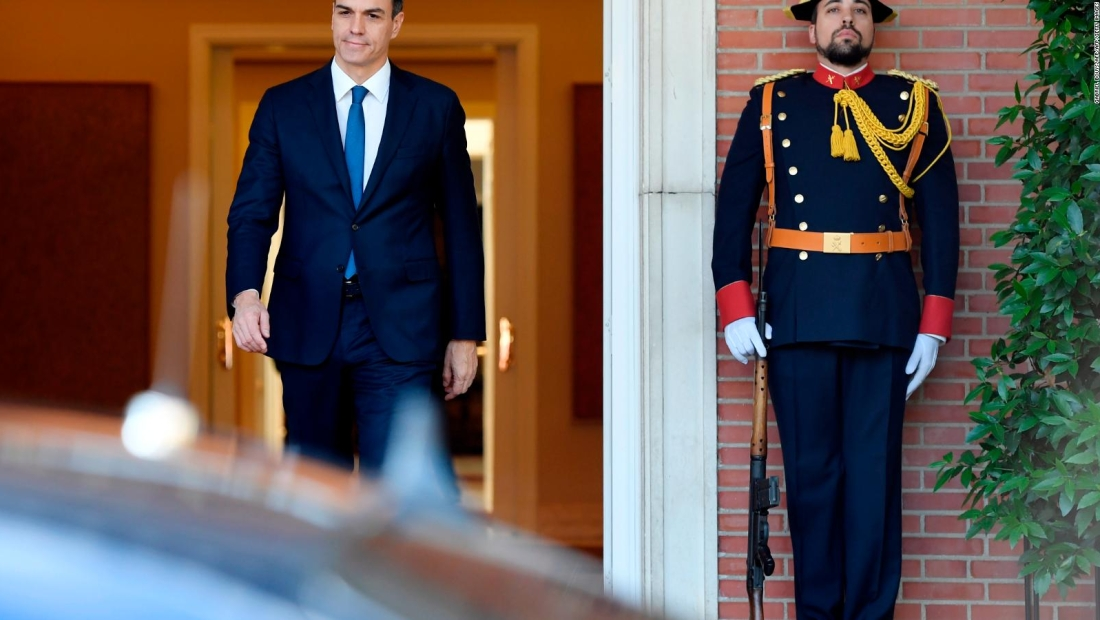 Sánchez anuncia nuevas políticas