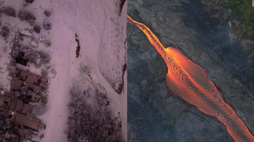 Esta es la diferencia entre los volcanes Kilauea y de Fuego