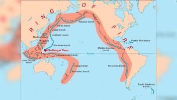 ¿Qué es el Anillo de Fuego del Pacífico?