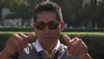 Así invitó a jugar golf el arquero Jorge Campos a Lorena Ochoa