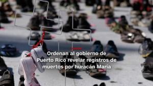 #MinutoCNN: Puerto Rico debe revelar registros de muertos por María