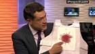 Un chaleco antibalas hecho con notas de periodistas asesinados
