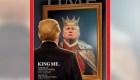 #LaImagenDelDía: ¡Yo, el rey Trump!