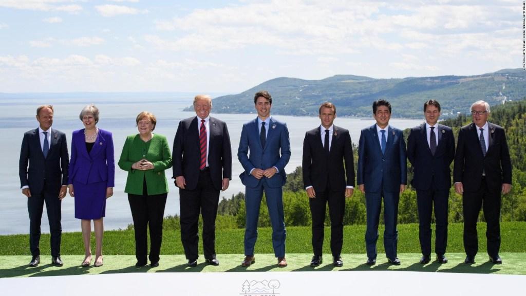 Trump pide reincorporación de Rusia al grupo de potencias