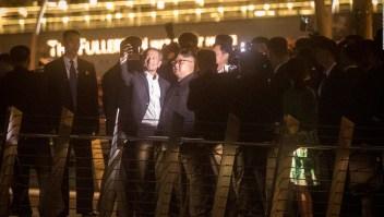 Kim Jong Un pasea por Singapur