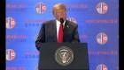 Trump: El presidente Kim quiere la desnuclearización