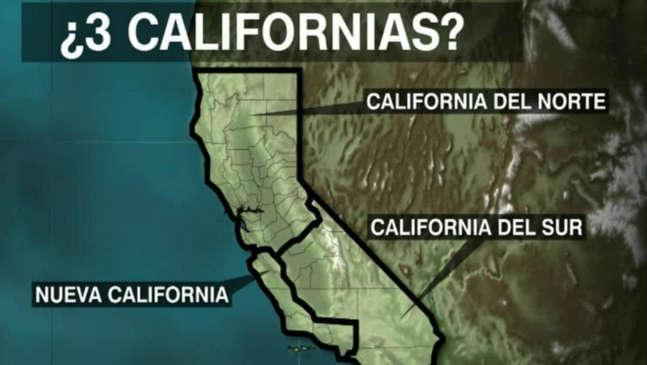 ¿Trendremos tres Californias?