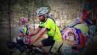 La travesía del fan argentino que viajó en bicicleta hasta Rusia