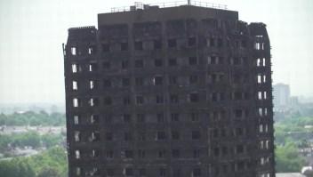 Un año después del incendio de la torre Grenfell en Londres