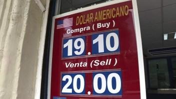 El peso mexicano sigue cayendo frente al dólar este 2018