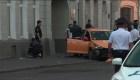 Siete heridos tras atropellamiento por un taxi en Moscú