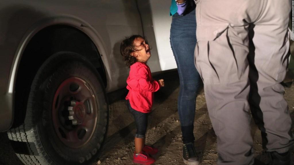 El folleto que se entrega a los indocumentados separados de sus hijos