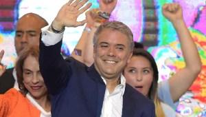 Iván Duque promete unir a Colombia en su discurso de victoria