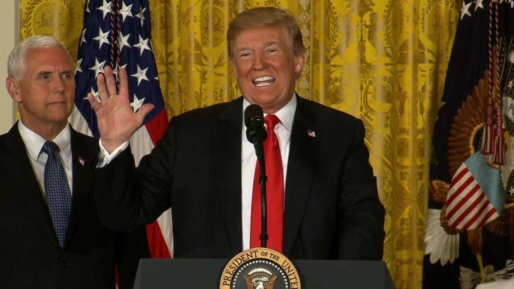 """Trump: """"EE.UU. no será un campamento de inmigrantes"""""""
