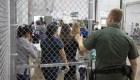 Mira las fotos de los menores indocumentados detenidos en la frontera de EE.UU.