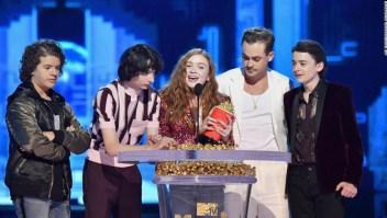 """Los niños de """"Strangers Things"""" se llevaron varios de los Premios MTV Movie & TV"""