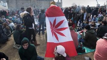 El Senado de Canadá aprobó este martes el uso recreativo de la marihuana. (Crédito: LARS HAGBERG/AFP/Getty Images)