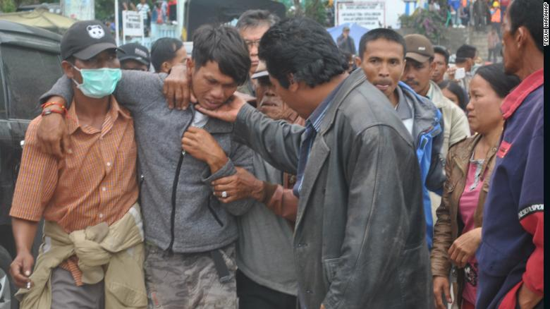 18 personas fueron salvadas del agua cuando se hundió el ferry el 18 de junio.
