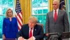Trump da marcha atrás a la práctica de separación de familias