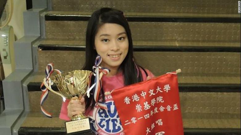 Pang Ching-yu, exestudiante de enfermería.