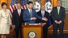 Líder republicano presionó para cambios en política de separación de familias