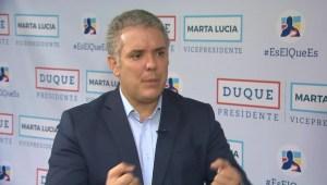 Iván Duque: Soy partidario de sacar a Colombia de Unasur