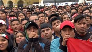 Así reaccionaron los hinchas tras eliminación de Perú
