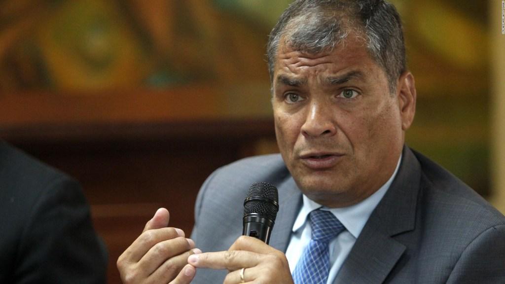 ¿Pedirá Rafael Correa asilo en Bélgica?