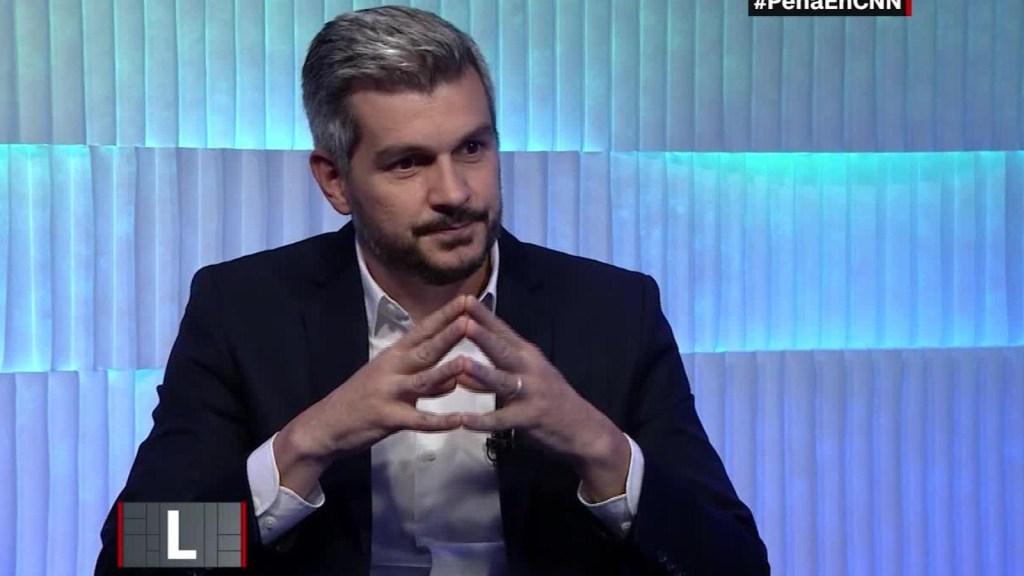"""Marcos Peña: """"No estoy de acuerdo con la despenalización del aborto"""""""