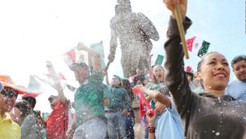 México celebra su segunda victoria en el Mundial