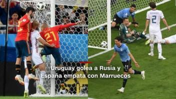 #MinutoCNN: Uruguay y España avanzan a octavos