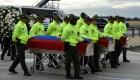 Cuerpos de periodistas de El Comercio llegan a Ecuador