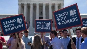 Fallo de Corte Suprema de EE.UU. golpea a sindicatos