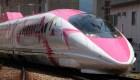 #ElDatoDeHoy: Así es el tren de Hello Kitty en Japón