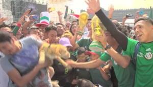 """""""Gracias Corea por darnos el pase"""", así celebra la Ciudad de México"""
