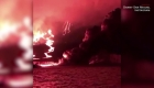 Entró en erupción el volcán Sierra Negra en Galápagos